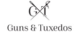 Guns and tuxedos Logo