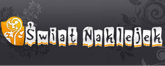 świat naklejek Logo