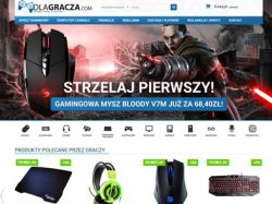 Dlagracza.com Screenshot