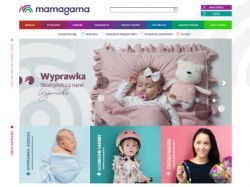 mamagama.pl Screenshot